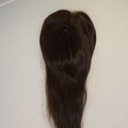 Накладка челка из натуральных волос